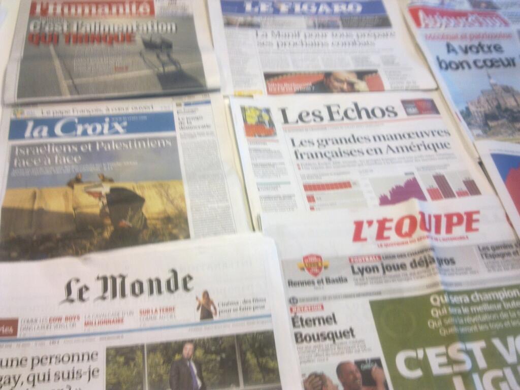 Diários franceses  30/07/2013