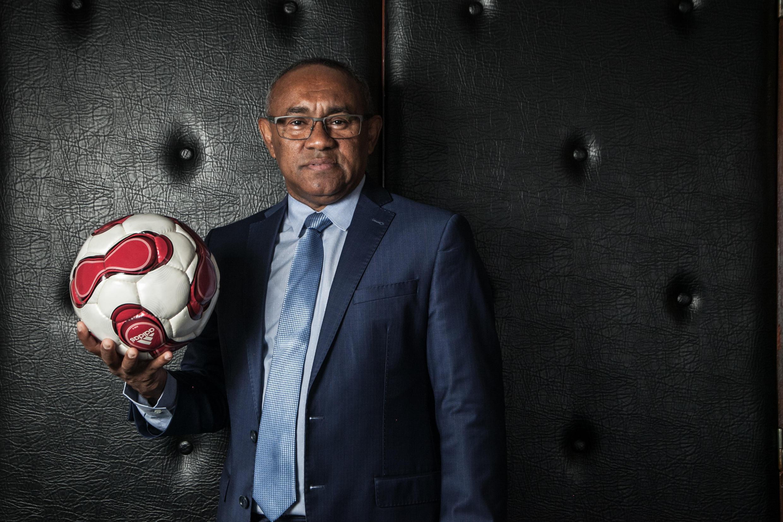 Ahmad Ahmad, rais wa chama cha Soka nchini Madagascar na mgombea urais wa Shirikisho la Soka la Afrika (CAF).