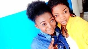 IMAGE Les Nyotas, un duo d'humoristes congolaises, lauréates du prix RFI Talents du rire IMG_20191207_124314