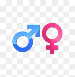 圖為男女兩性圖標