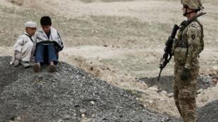 Lính Mỹ tại Afghanistan. Ảnh chụp ngày 25/03/2012.