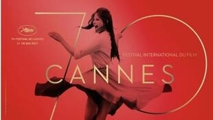 Imagem do cartaz do 70°cartaz do Festival de Cannes