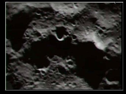 La Lune vue par la sonde LCROSS.