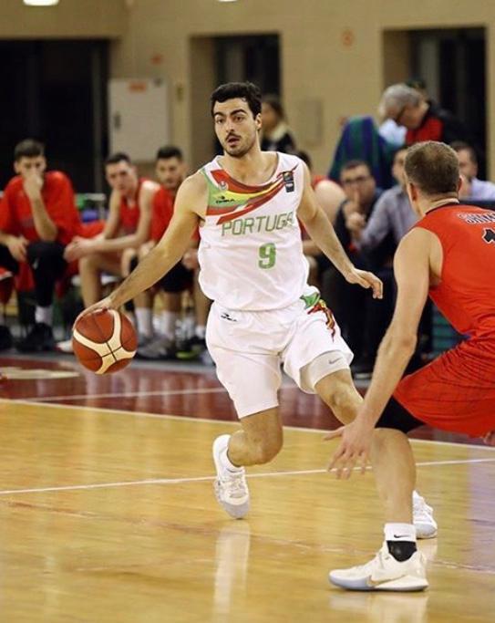 Diogo Ventura, internacional português.