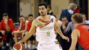Basket - Diogo Ventura - Sporting CP - Moçambique - Portugal - Basquetebol