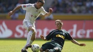 Frank Ribéry là cột trụ của đội tuyển Pháp cũng như là của câu lạc bộ Đức Bayern Munich