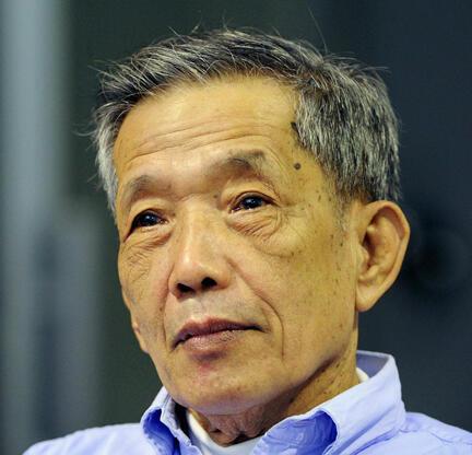 Канг Кек Иеу, известный по кличке «Дач», руководивший пыточной тюрьмой Тоул Сленг