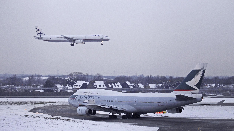 El caos en los aeropuertos fue patente durante todo el fin de semana.