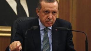 Shugaban Turkiya Recep Tayyip Erdogan.