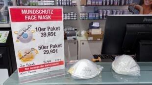 به منظور مقابله با گسترش ویروس کرونا، مواد ضدعفونیکننده و ماسک در آلمان نایاب شد.