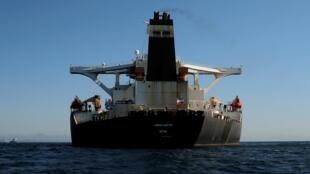نفتکش آدریان دریا یا گریس سابق فعلا در مدیترانه بلاتکلیف است