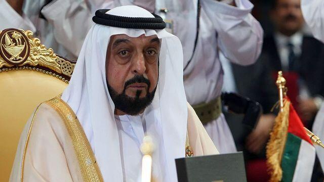 le-president-des-emirats-arabes-unis-cheikh-khalifa-ben-zayed-al-nahyane