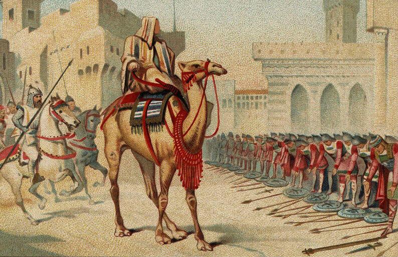 grands_conquerants_-_omar_le_2eme_calife_prenant_en_personne_possession_de_jerusalem_l_an_638_de_l_ere_chretienne.derv