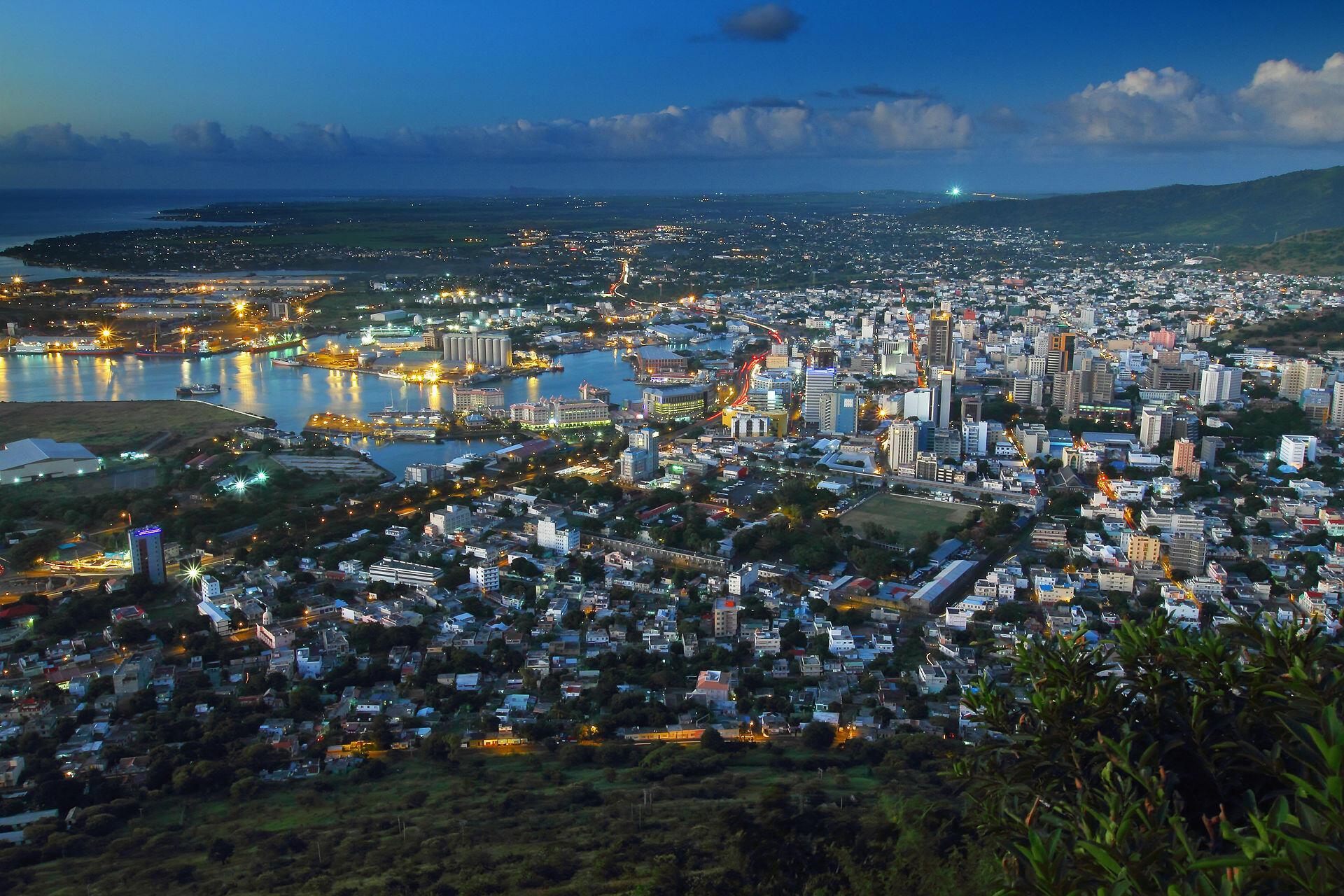 Port-Louis, capitale de Maurice.