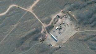 Vista aérea del complejo nuclear de Natanz, en el centro de Irán, el 28 de enero de 2020, aportada por Maxar Technologies