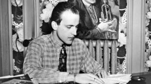 Boris Vian en 1950.