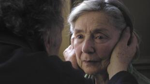 «Amour», de Michael Haneke, avec Jean-Louis Trintignant et Emmanuelle Riva.
