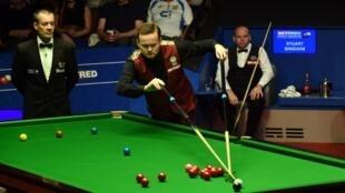 Le Britannique Shaun Murphy, champion du monde de snooker.