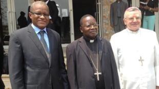 Monseigneur Marcel Utembi Tapa, président de la Conférence épiscopale du Congo.
