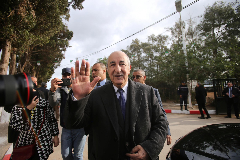 Shugaban kasar ALgeria Abdelmadjid Tebboune.
