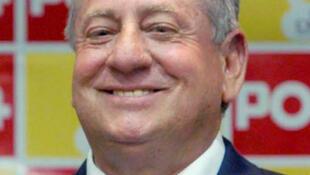 厄瓜多尔前足协主席Luis Chiriboga2010年8月10日