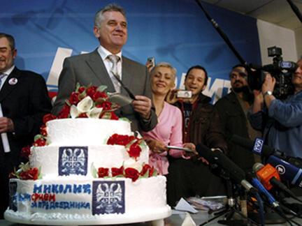 Новый президент Сербии Томислав Николич