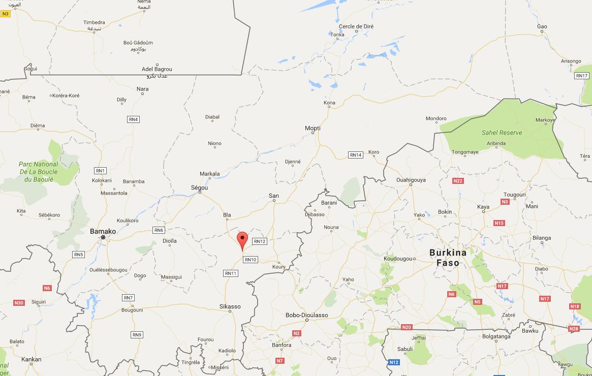 Koutiala ni mji wa mashariki mwa Mali, kilomita chache kutoka mpaka na Burkina Faso.