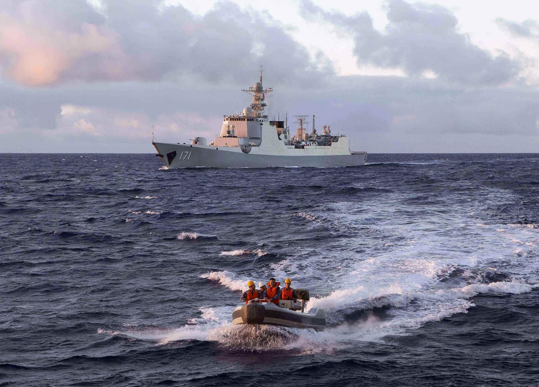 Khu trục hạm Trung Quốc Hải Khẩu (DDG-171). Ảnh minh họa