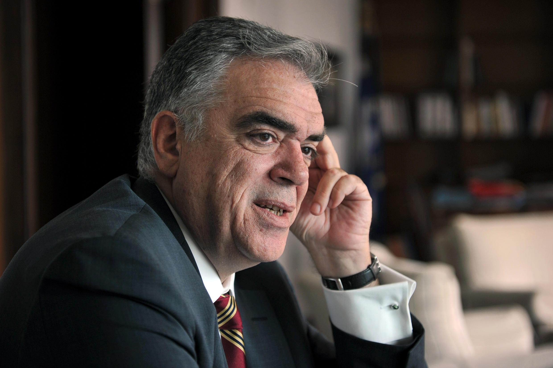 Dimitris Kourkoulas, le 4 octobre 2013.