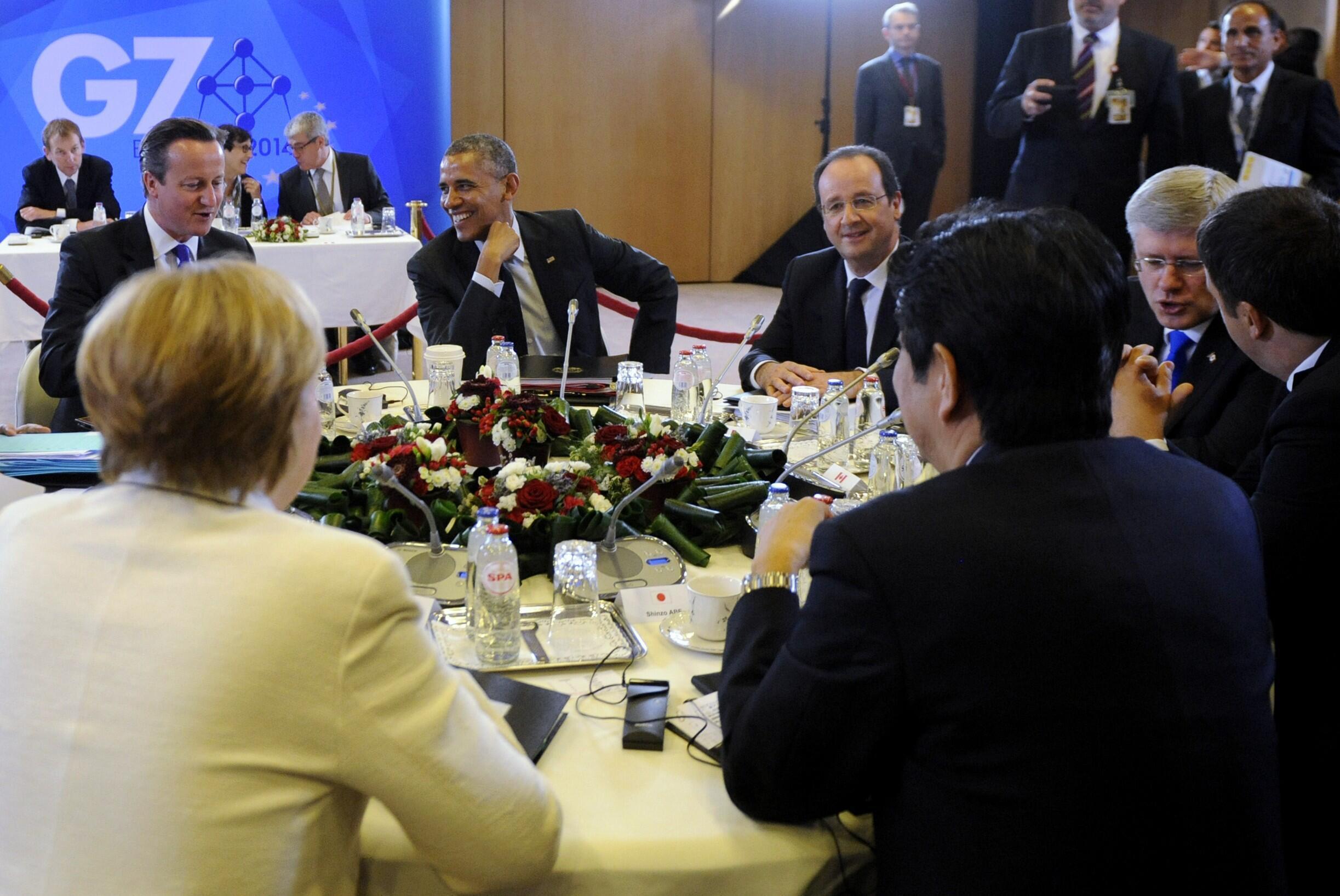 Lãnh đạo nhóm G7 họp tại Bruxelles : Nga lại là tâm điểm các cuộc thảo luận - REUTERS /Laurent Dubrule