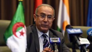 Ramtane Lamamra, Vice-Premier ministre algérien, ex ministre des Affaires étrangères, le 16 juillet 2014, à Alger.
