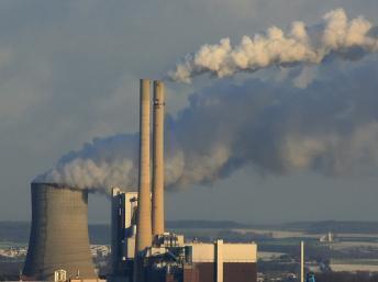 Una central eléctrica a carbón en Heilbronn, Alemania.