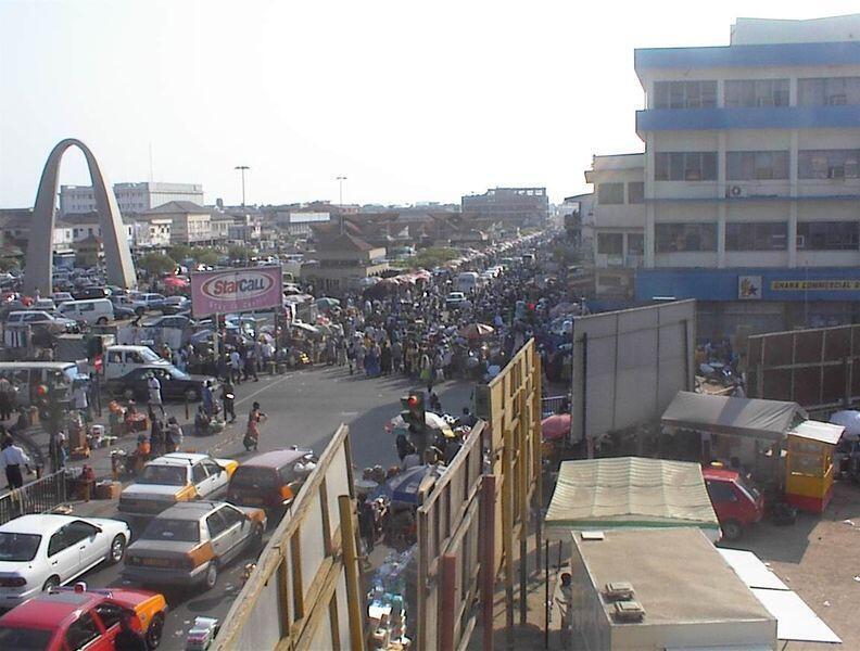 Birnin Accra na kasar Ghana