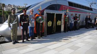 Bikin Kaddamar da layin jirgin kasa mai sauri na TGV a Morocco