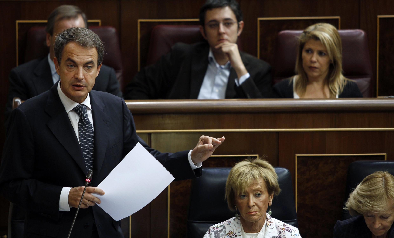 El presidente español, José Luis Rodríguez Zapatero.