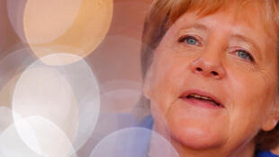 图为德国总理默克尔