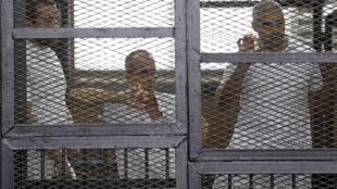 'Yan Jaridan Aljazeerah da aka yanke wa hukuncin dauri a Masar
