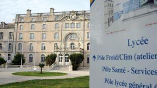 O Figaro destaca as investigações de um caso de estupro em uma escola em La Rochelle.