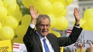 Alexander Van der Bellen, el nuevo presidente de Austria.