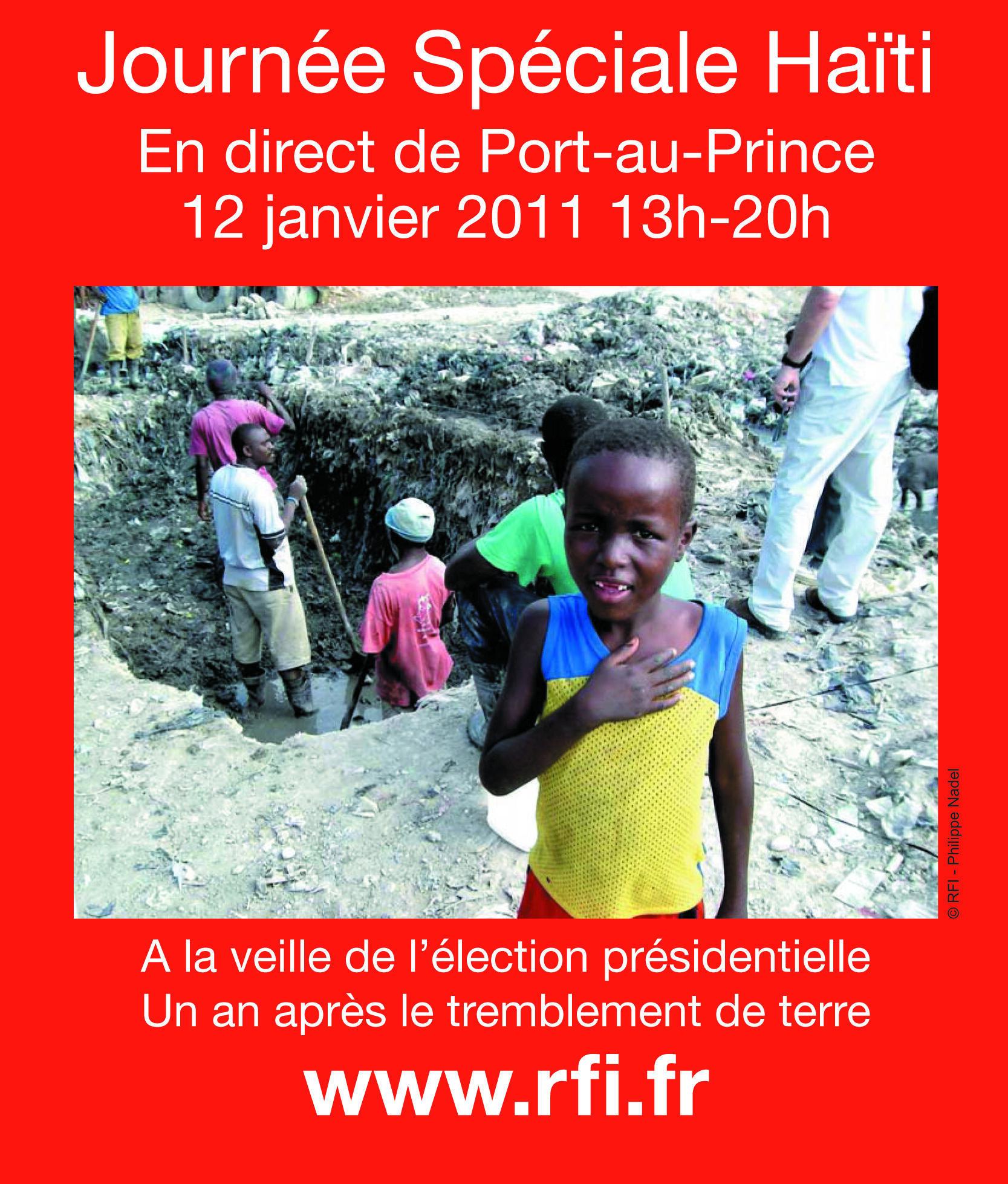 journée spéciale « un an après en Haïti »