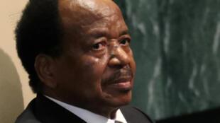 Rais wa Cameroon Paul Biya