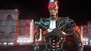 Capture d'écran du film Terminator, 1984.