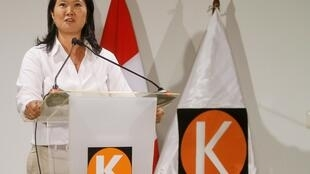 Keiko Fujimori, filha do ex-presidente Alberto Fujimori