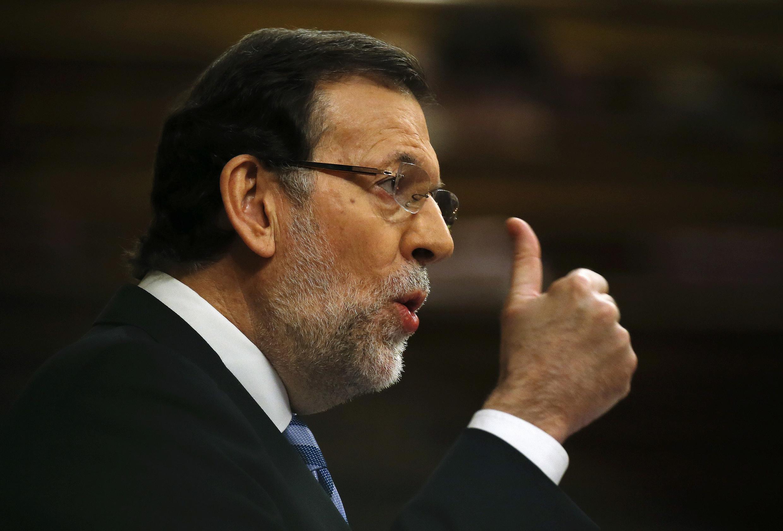 Премьер-министр Испании Мариано Рахой приветствовал отмену референдума в Каталонии