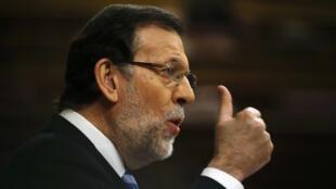 O chefe do governo espanhol Mariano Rajoy
