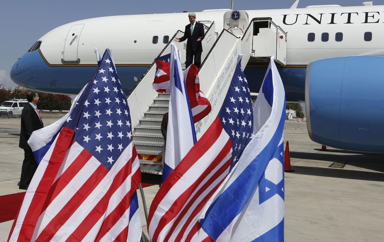 Госсекретарь США Джон Керри прибыл в Израиль с официальным визитом.