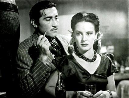 'Salón México' película dirigida por Emilio Fernández (1948).