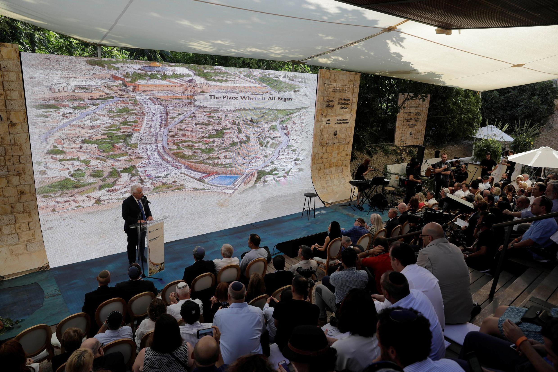 美国驻以色列大使弗里德曼在 Silwan考古遗址落成典礼讲话  2019年6月30日东耶路撒冷