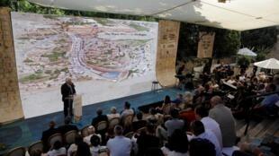 美國駐以色列大使弗里德曼在 Silwan考古遺址落成典禮講話  2019年6月30日東耶路撒冷