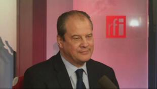 Jean-Christophe Cambadélis, député Ps de Paris, secrétaire national du PS à l'Europe et aux relations internationales.